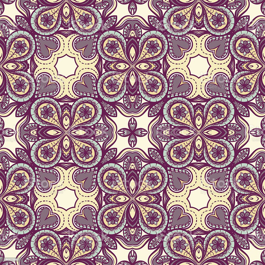 purple and yellow pattern royalty-free stock vector art