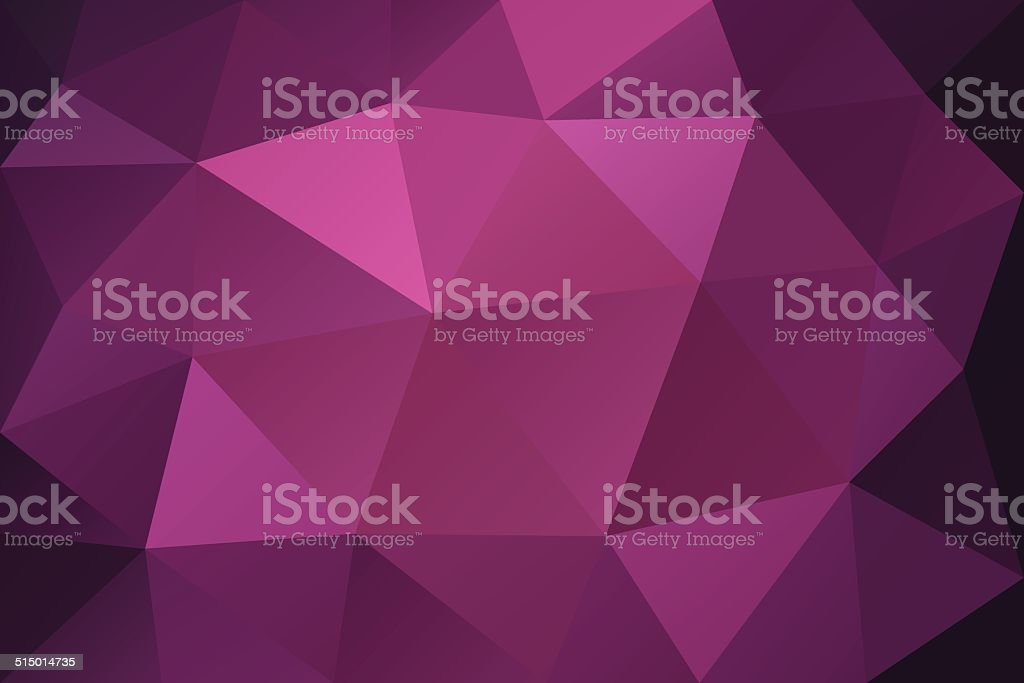 Purple low polygonal abstract background royalty-free stock vector art