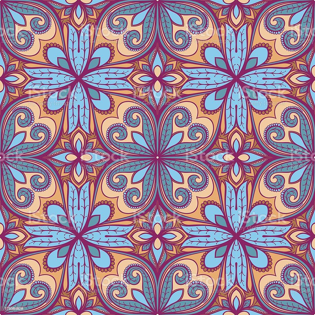 purple nature pattern royalty-free stock vector art