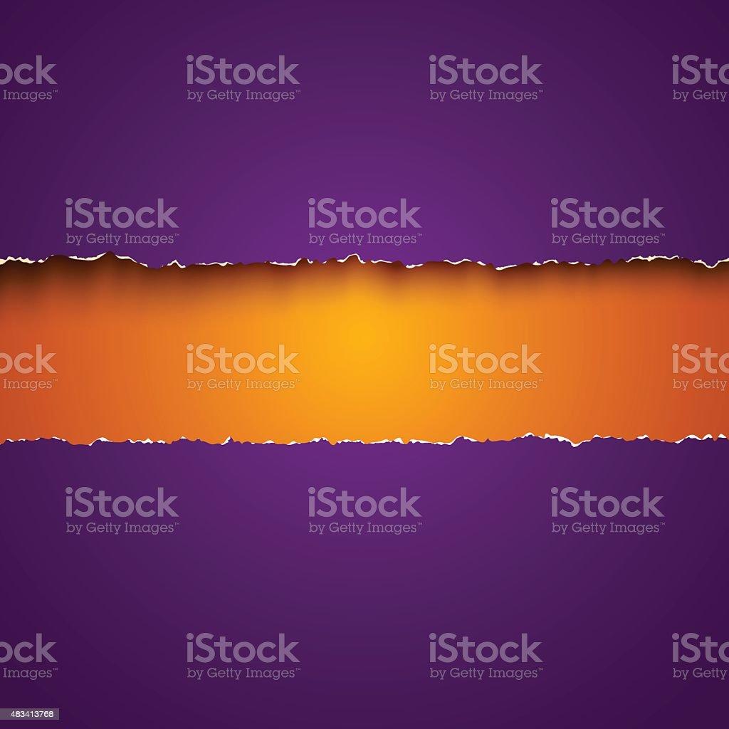 Purple paper vector art illustration