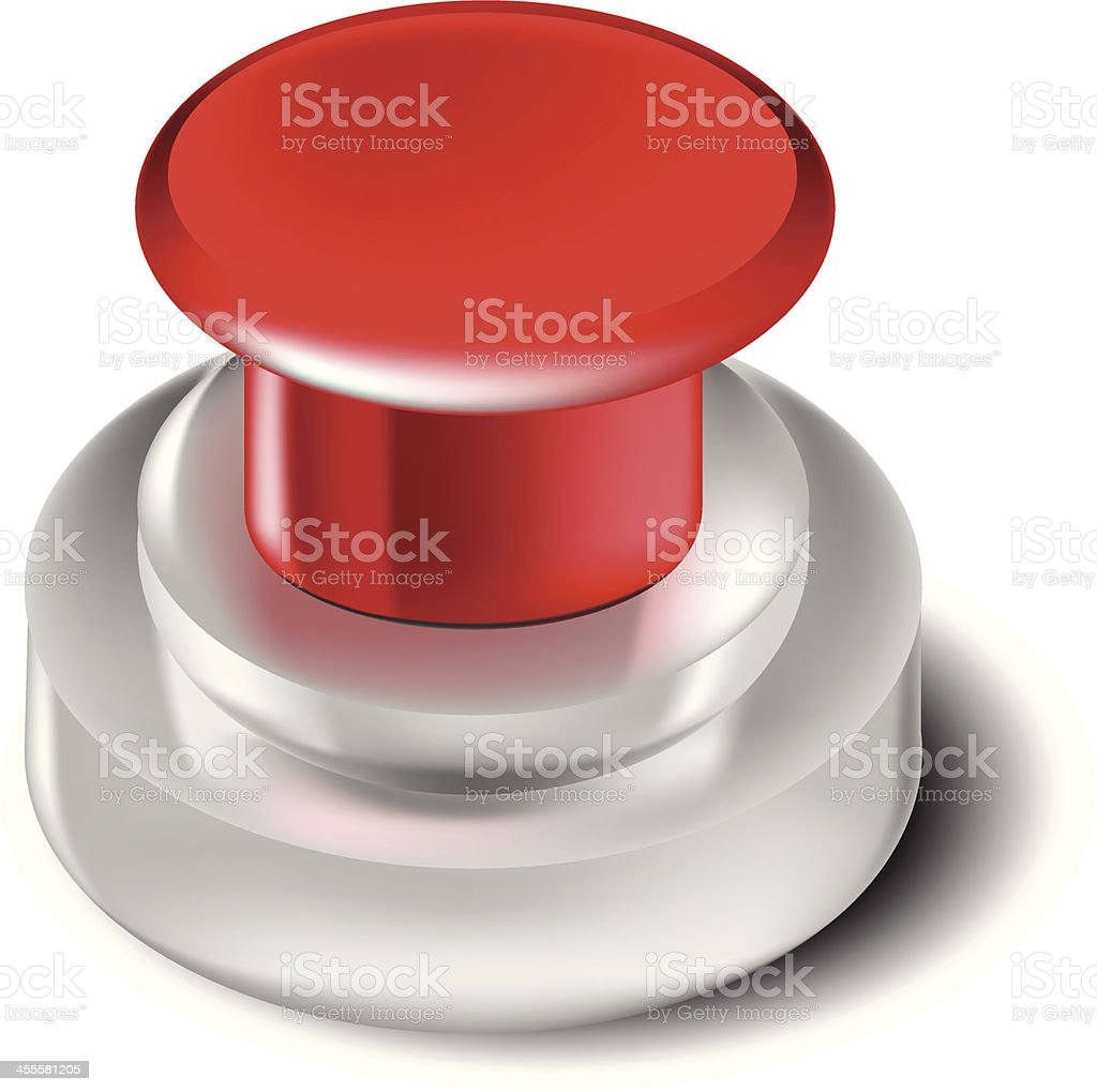 Push Button royalty-free stock vector art