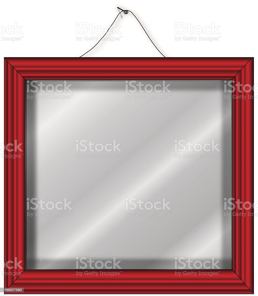 Put your pictures behind glass-VECTOR royalty-free stock vector art