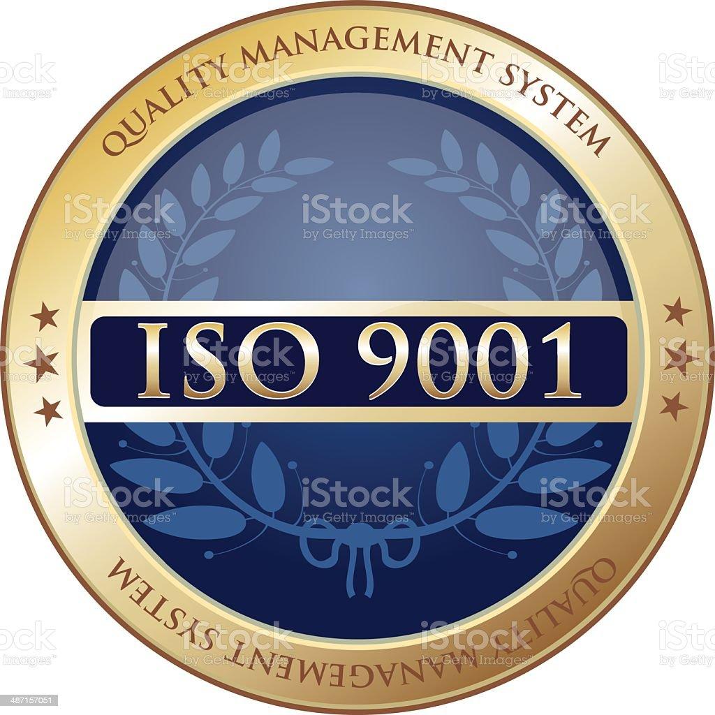 Quality Management System vector art illustration