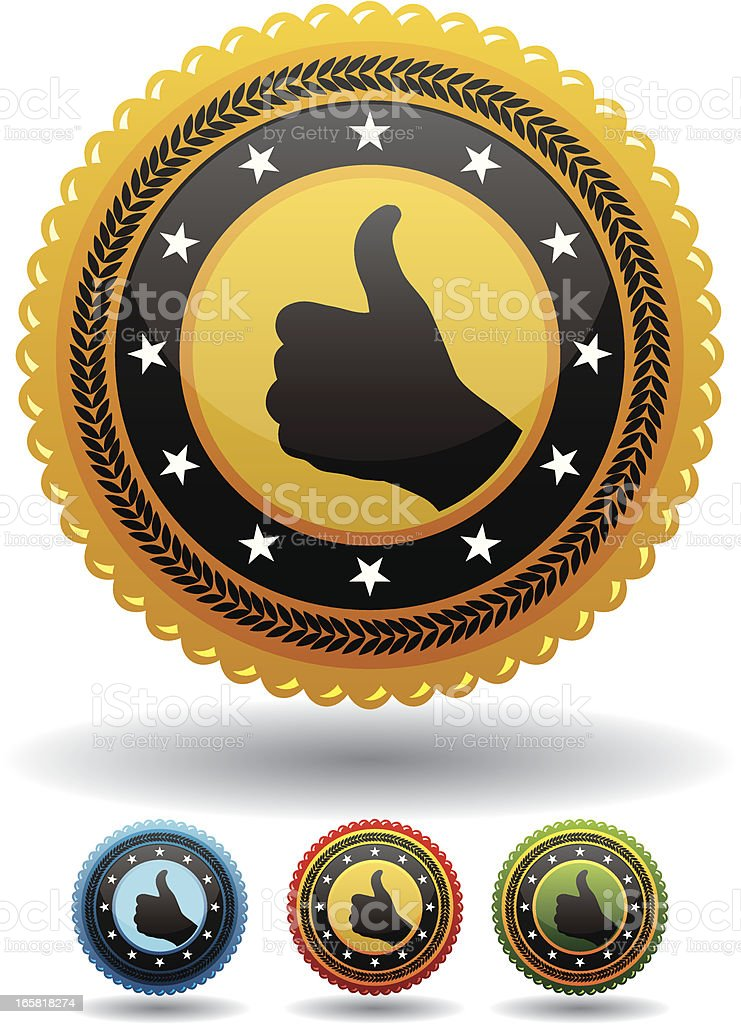 quality marks royalty-free stock vector art