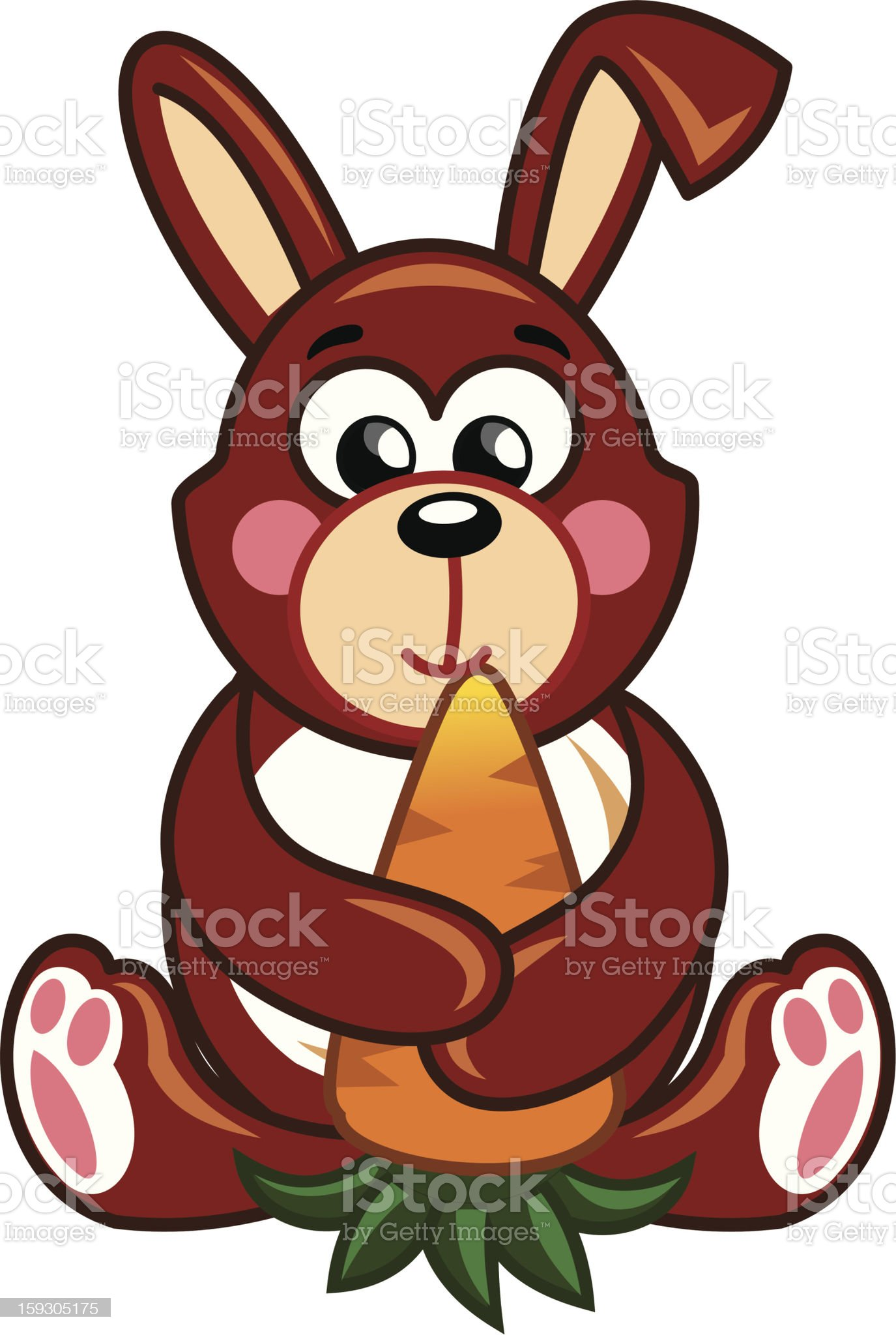 rabbit royalty-free stock vector art