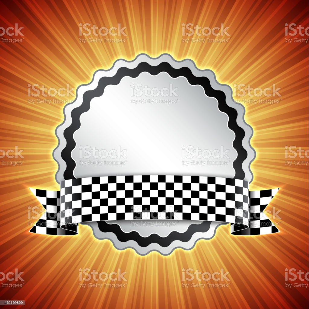 Race background royalty-free stock vector art