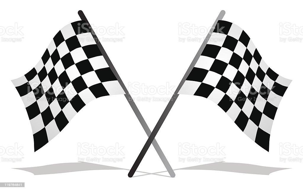 race flag royalty-free stock vector art