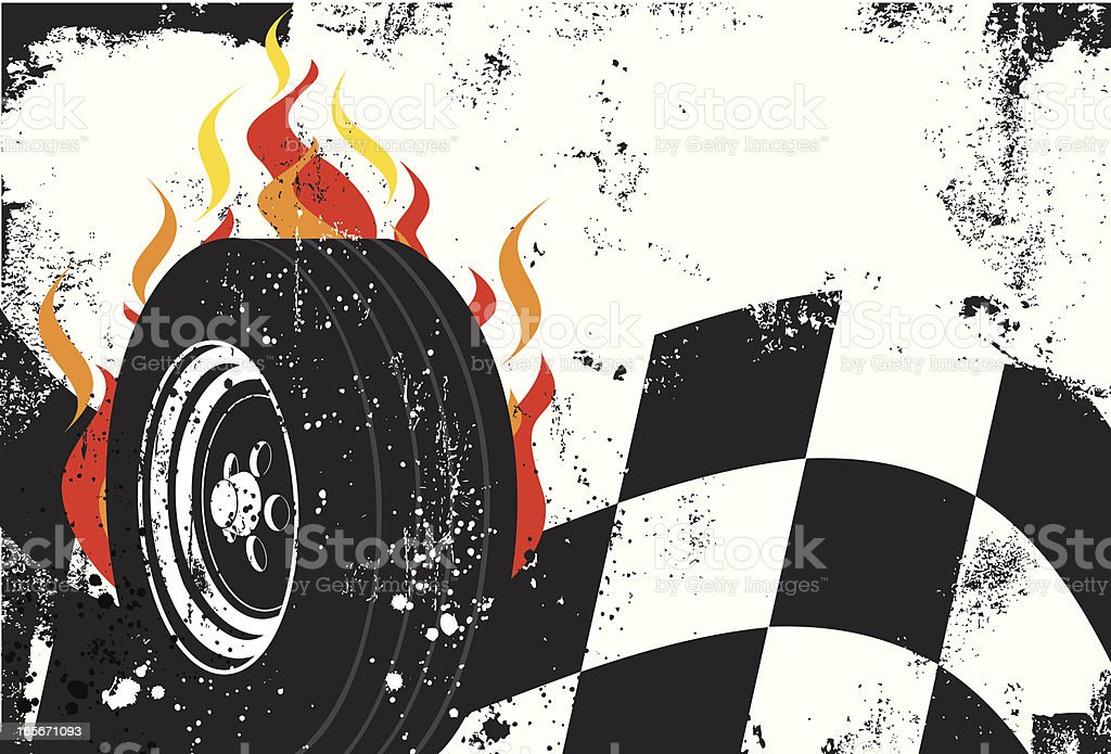 racing background royalty-free stock vector art