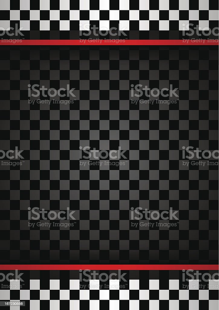 Racing vertical backdrop vector art illustration