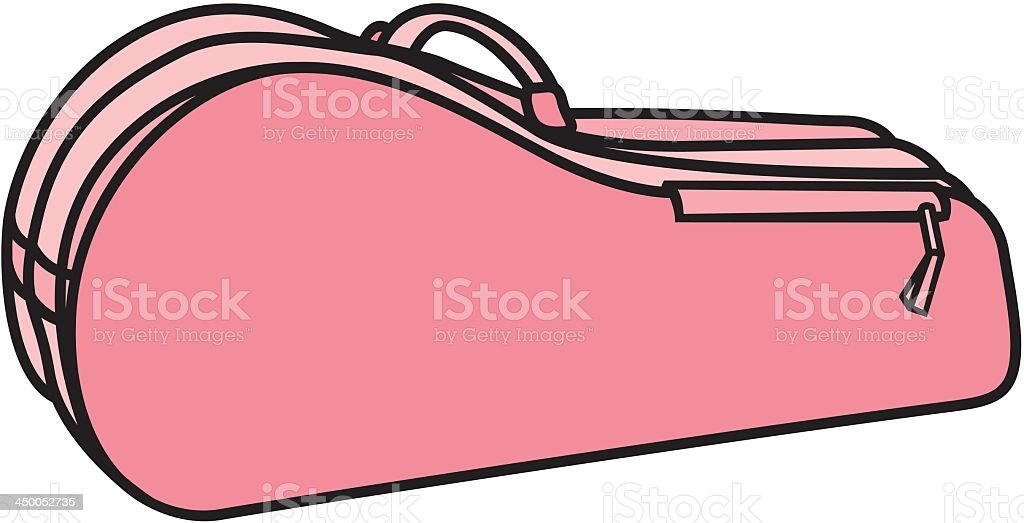 Racquet Bag royalty-free stock vector art