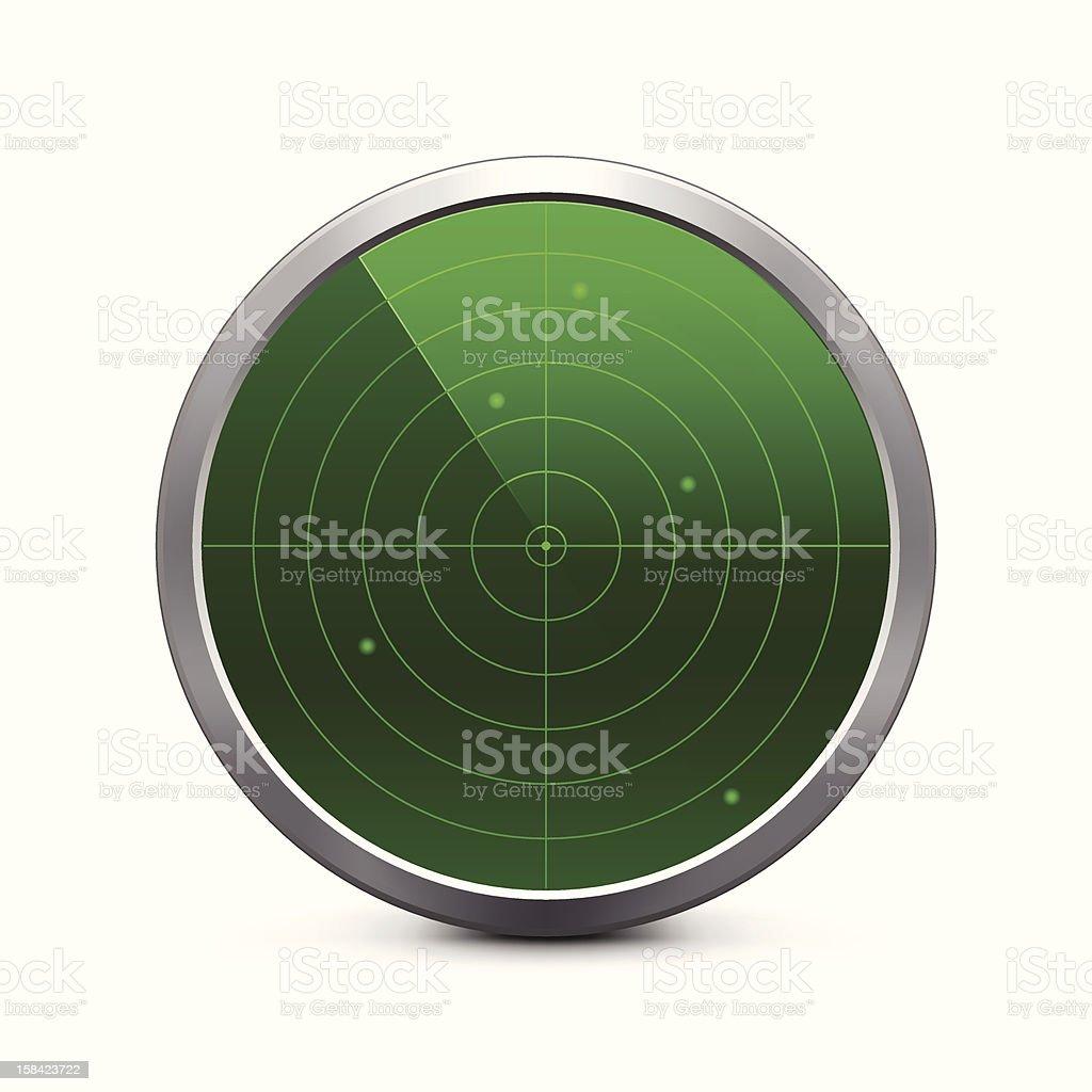 Radar Icon vector art illustration