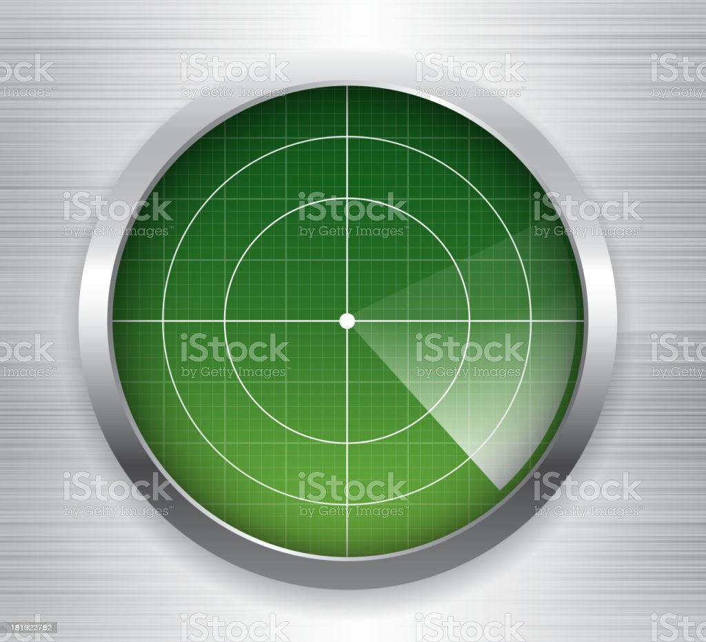 Radar royalty-free stock vector art
