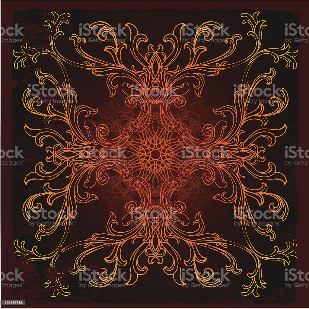 radiant branches royalty-free stock vector art