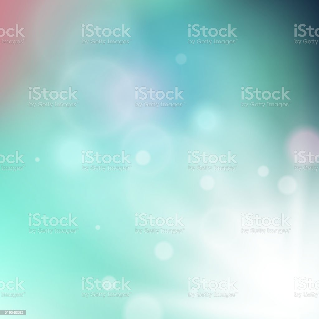 Radiating rays on soft colored background vector art illustration