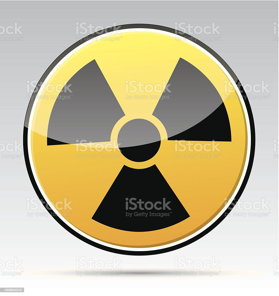 Radiation royalty-free stock vector art