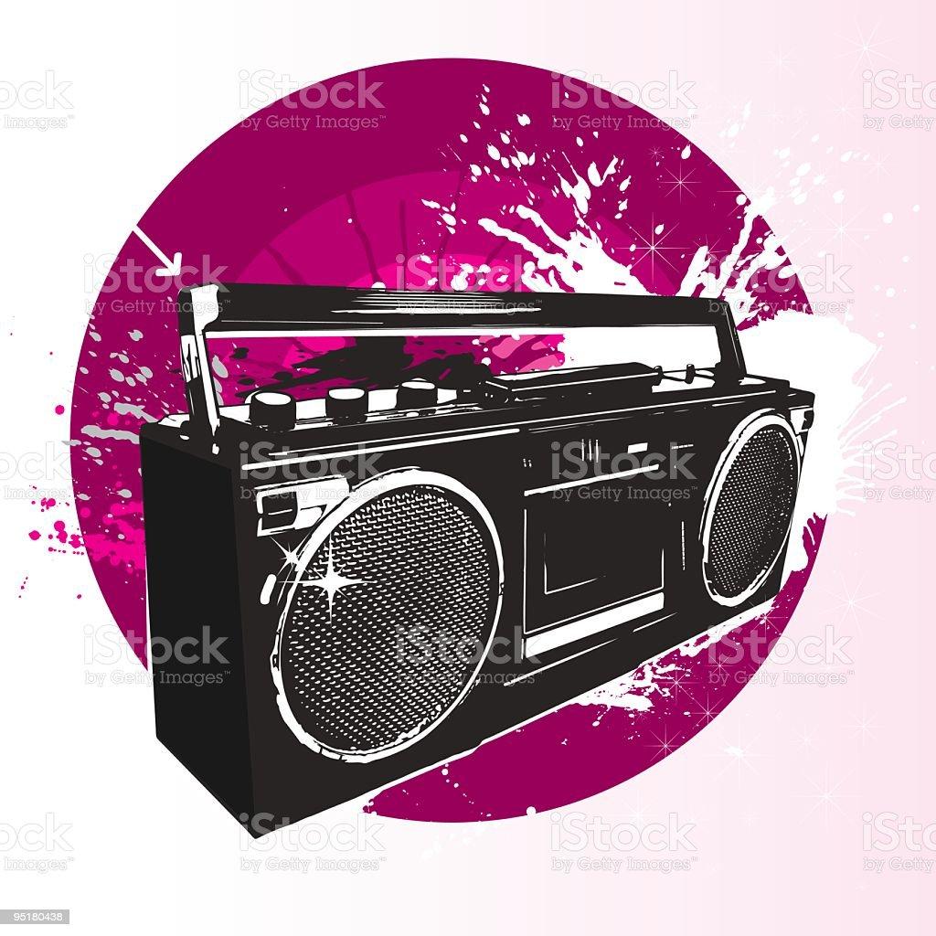 Radio royalty-free stock vector art