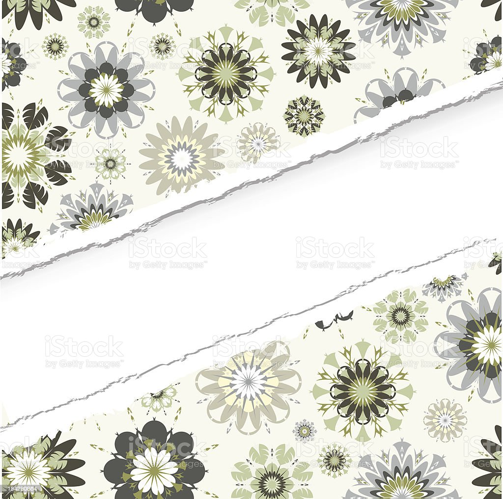 ragged seamless vector pattern royalty-free stock vector art