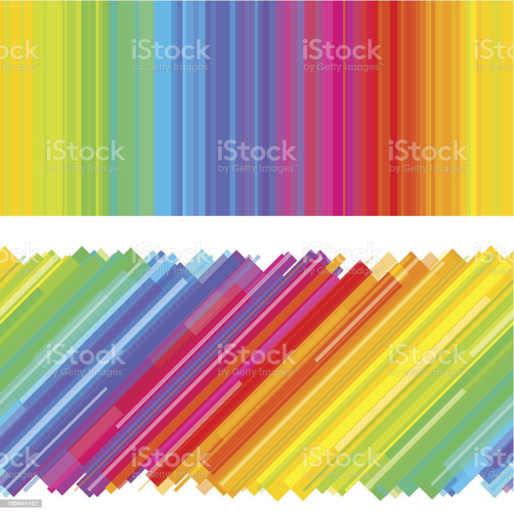 Rainbow background design royalty-free stock vector art