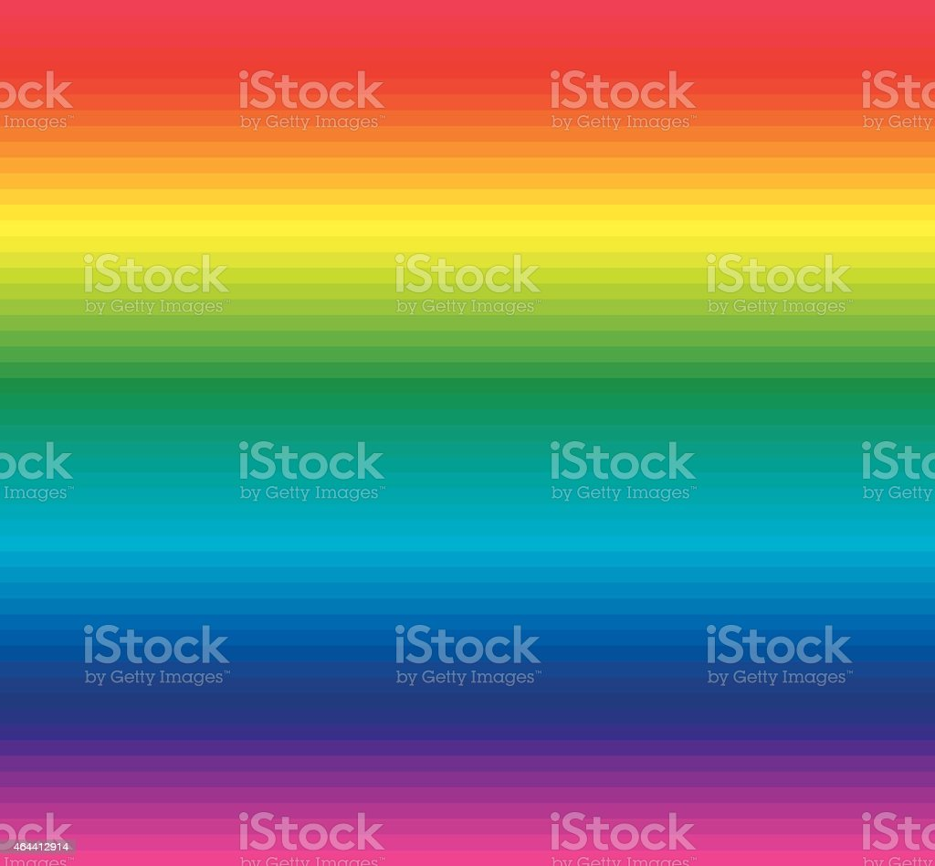 Rainbow background of colored lines vector art illustration