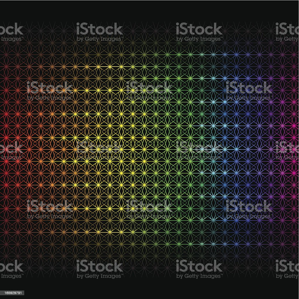 Rainbow background vector art illustration