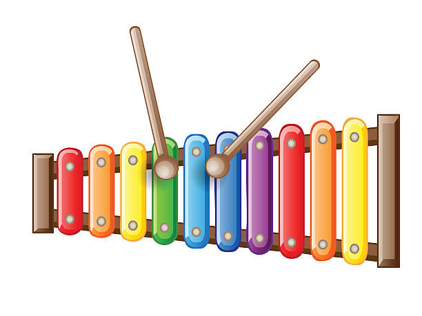 Xylophone Clip Art, Vector Images & Illustrations - iStock