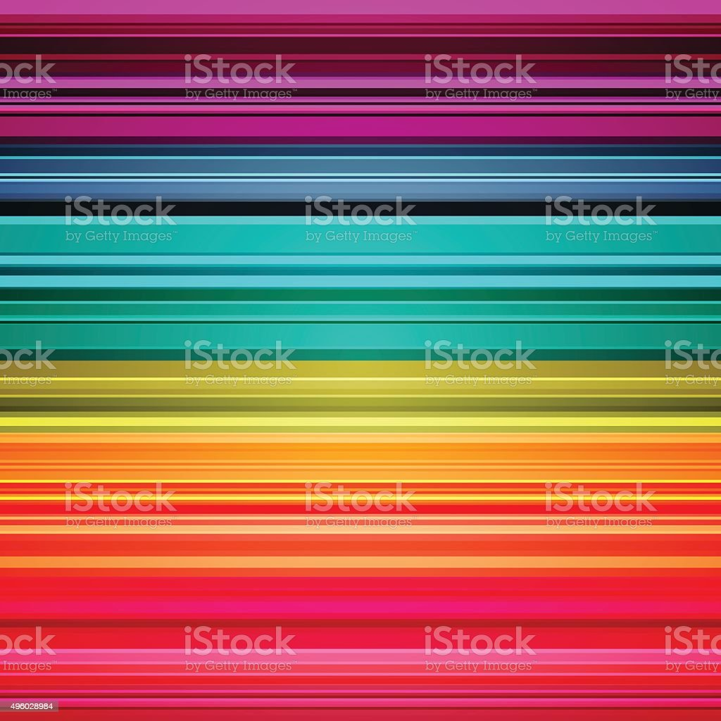 Rainbow colorful stripes abstract background vector art illustration