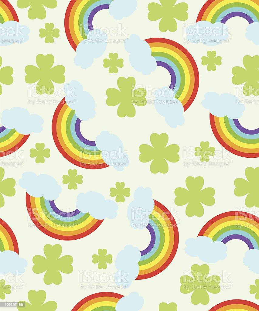 Rainbow pattern royalty-free stock vector art