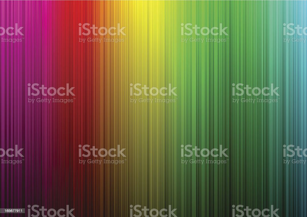 Rainbow striped background royalty-free stock vector art