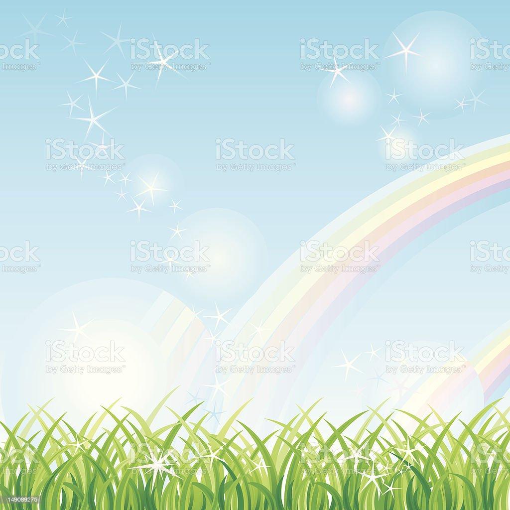 Rainbow royalty-free stock vector art