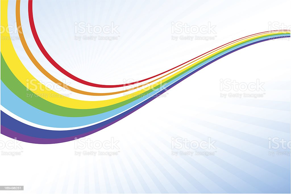 Rainbow royalty-free stock vector art