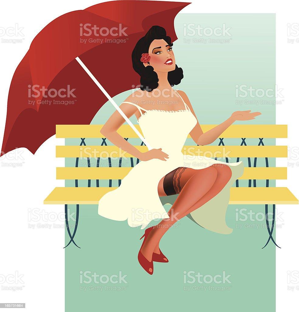 Rainy Day royalty-free stock vector art