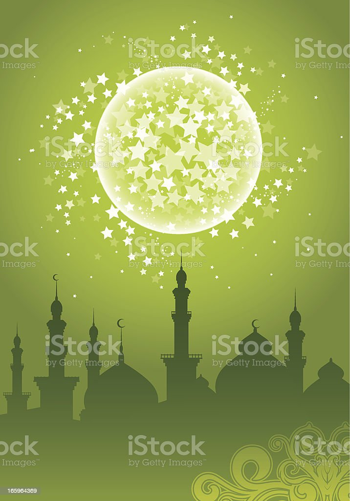 Ramadan Background vector art illustration