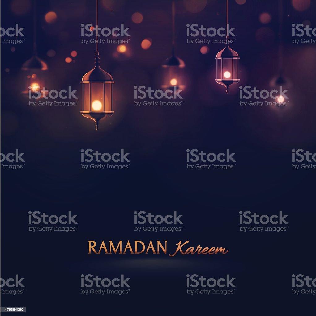 Ramadan Kareem vector art illustration