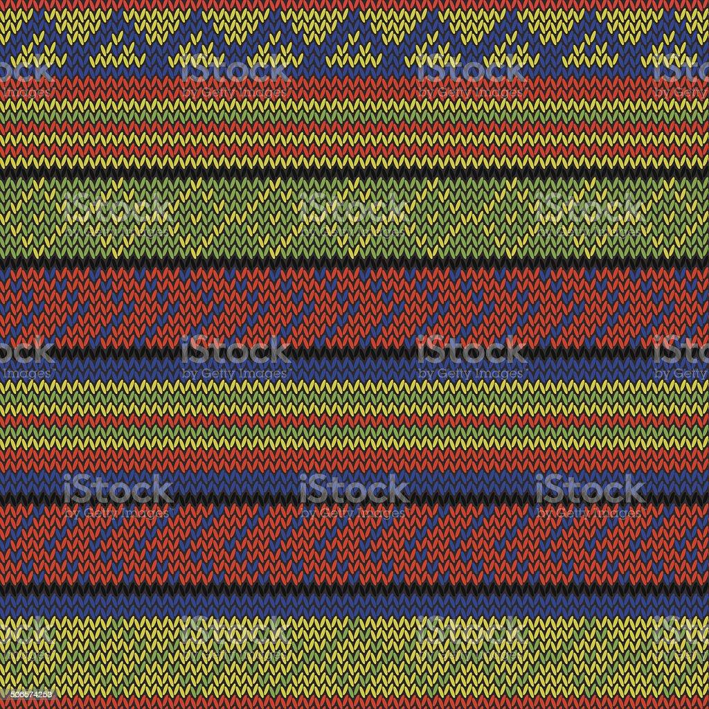 rasta aztec pattern royalty-free stock vector art