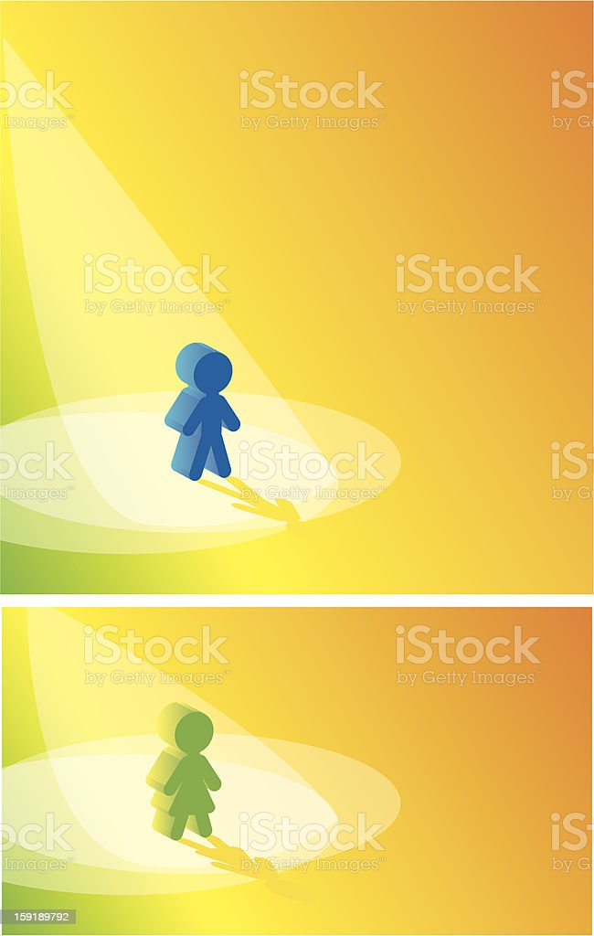 ray of success and status royalty-free stock vector art