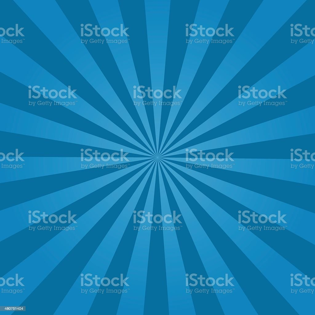 Rays  background  blue vector art illustration