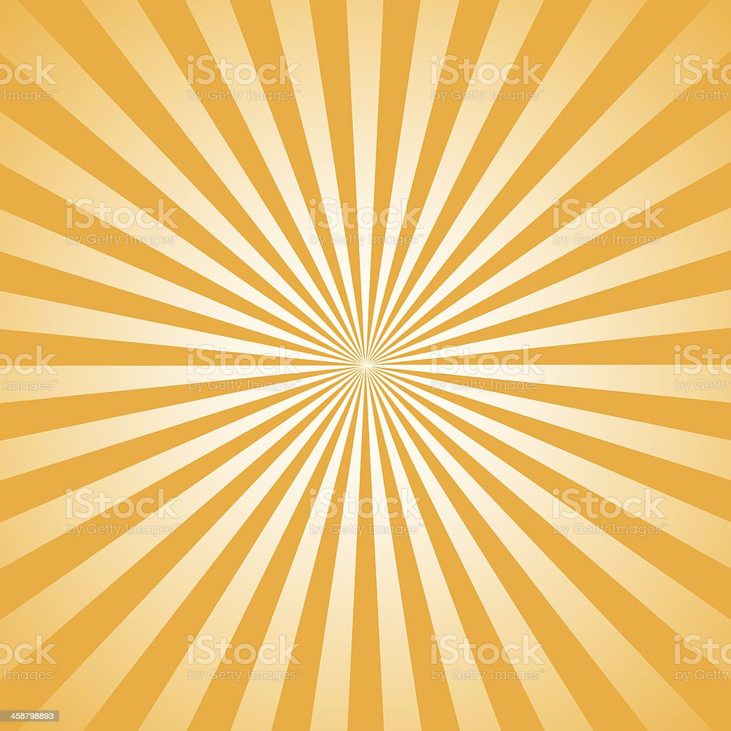 rays illustration Orange vector art illustration