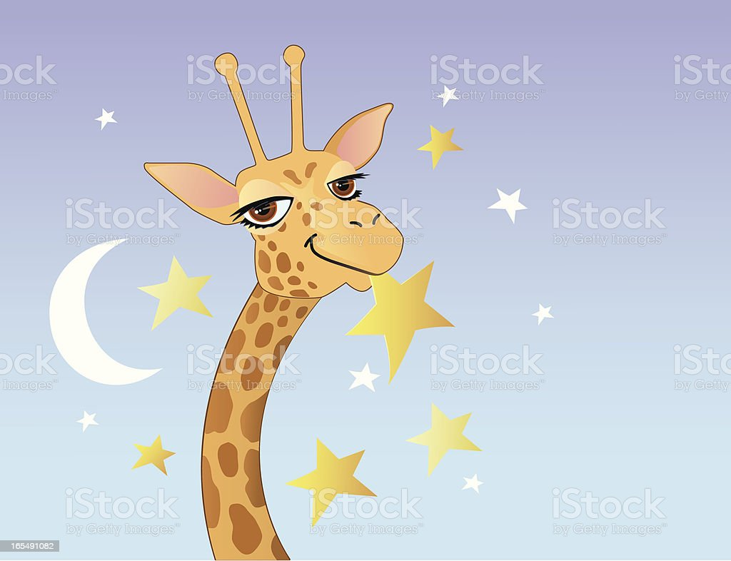 Reach for the Stars royalty-free stock vector art