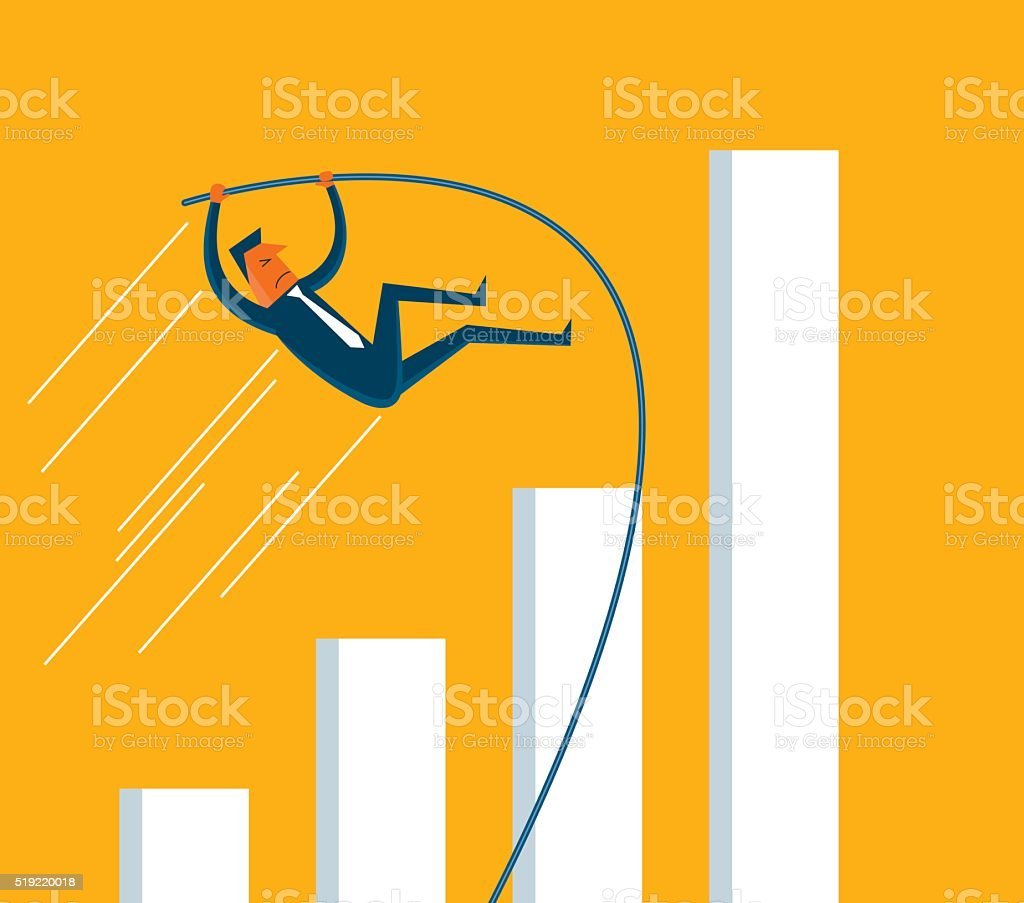 Reach the Limit vector art illustration