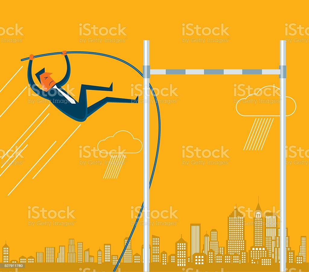 Reach the Limit vector art illustration