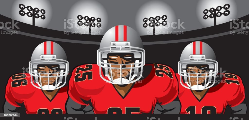 Ready to Attack! royalty-free stock vector art