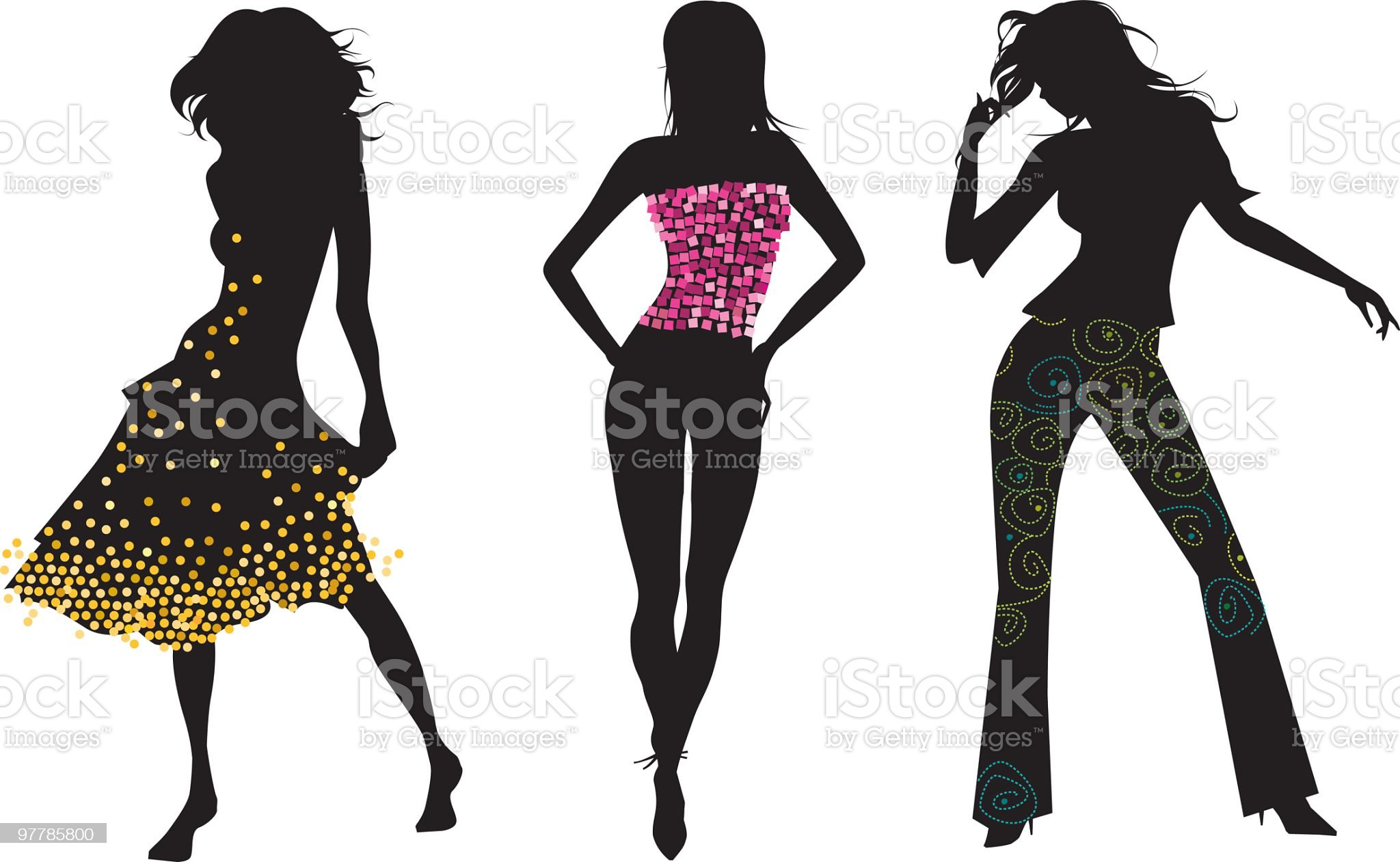 Ready to party! royalty-free stock vector art