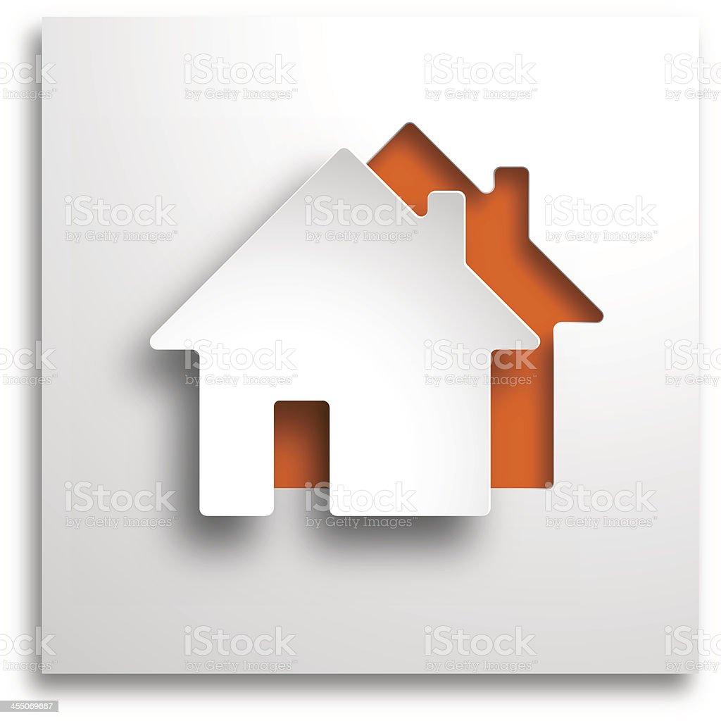 real estate 3d background vector art illustration