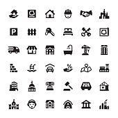 Real Estate and Property vector icons