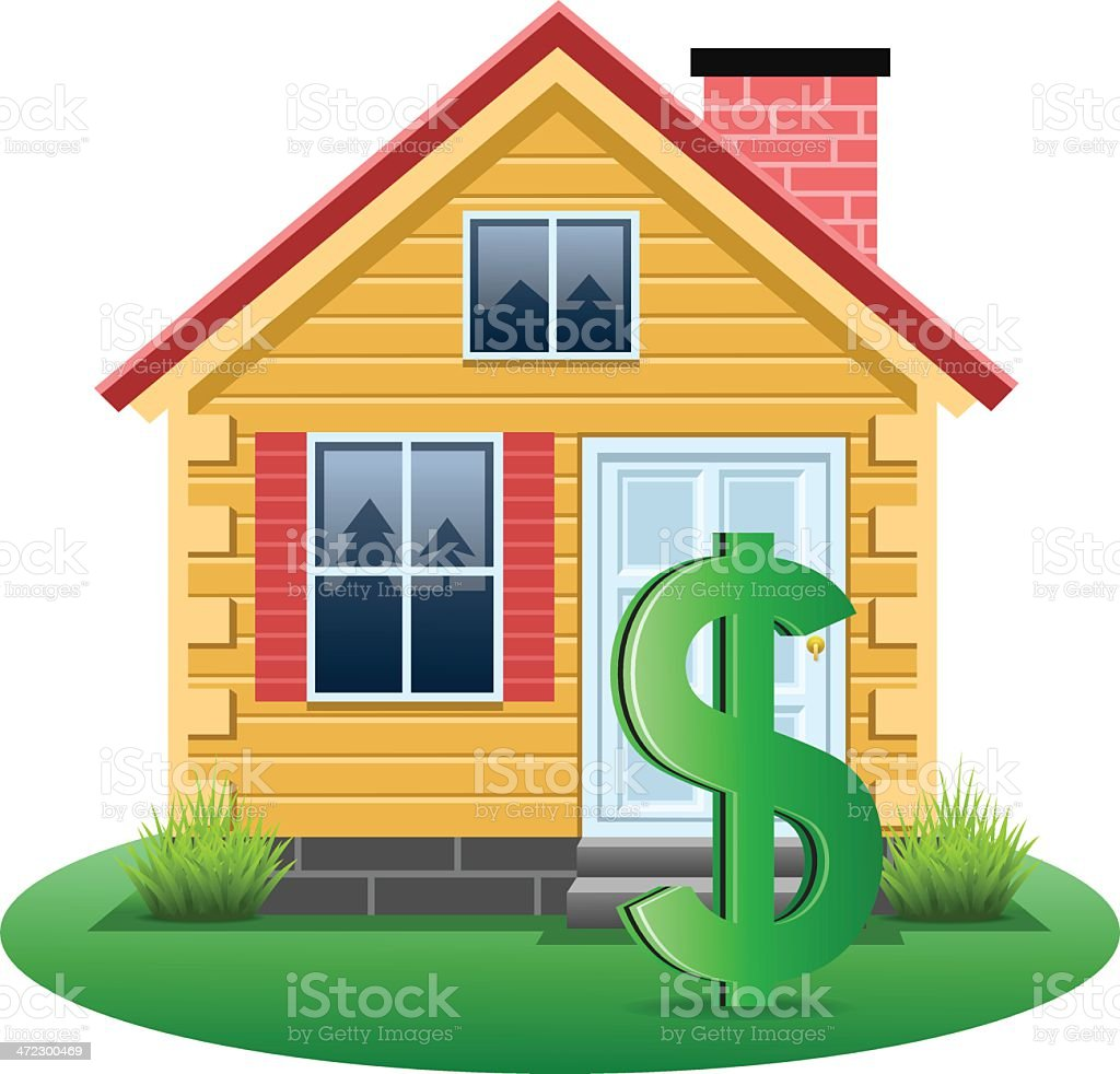 Real Estate Finance royalty-free stock vector art
