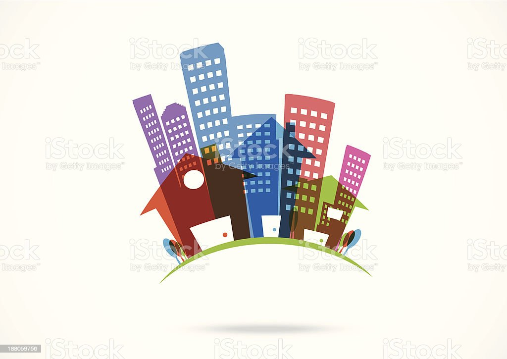 real estate Icon royalty-free stock vector art