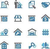 Real Estate Icons - Conc Series