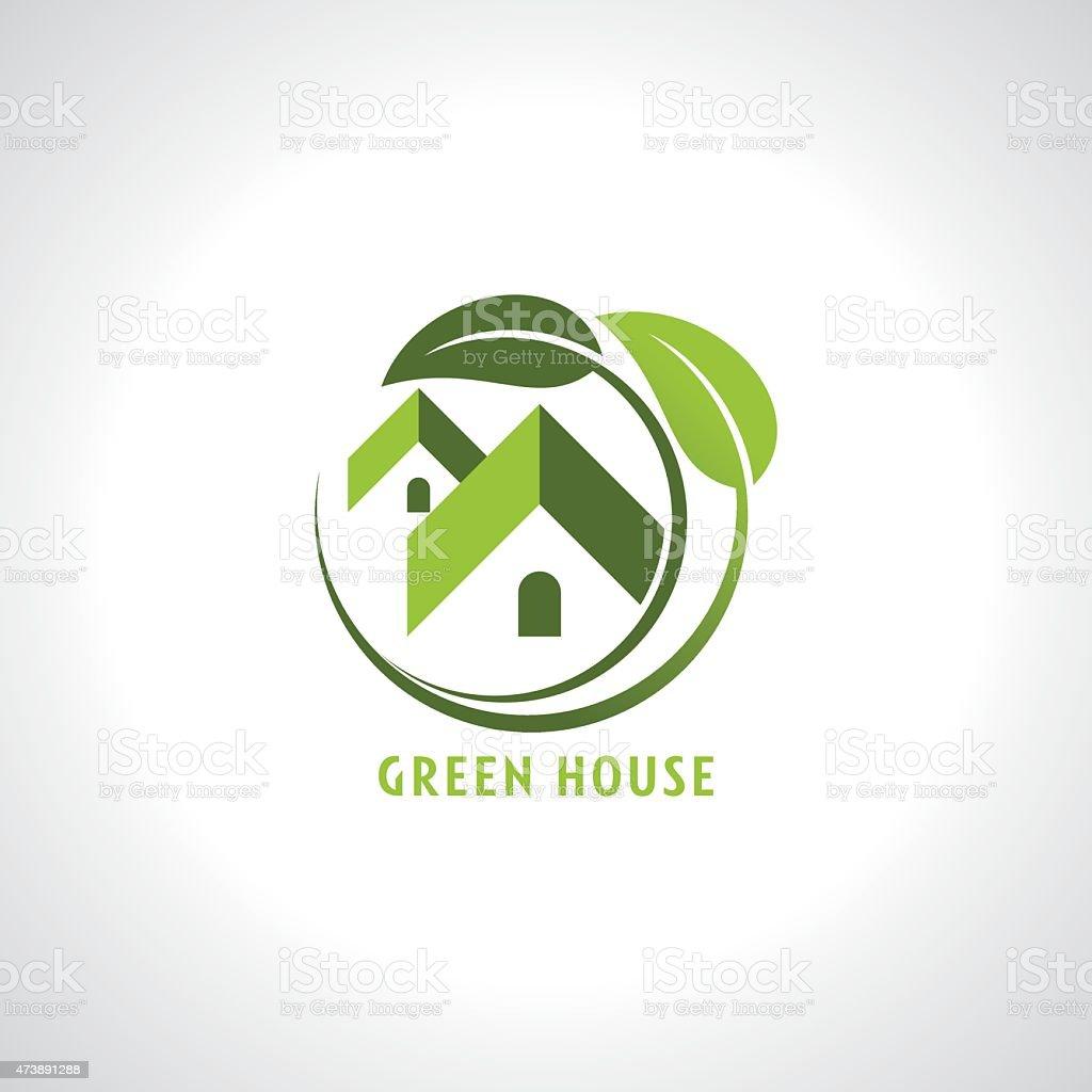 real estate resort icon vector art illustration