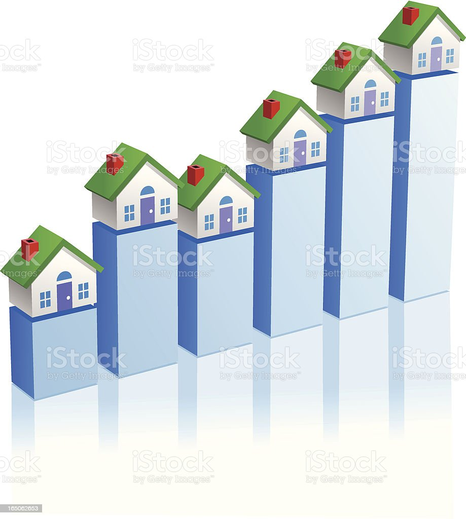 Real Estate Values royalty-free stock vector art