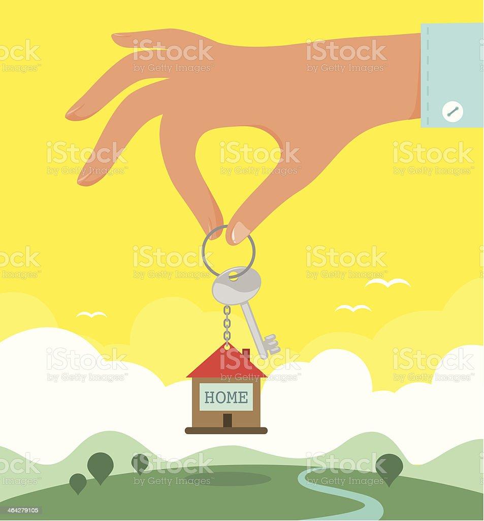 Real Estate vector art illustration